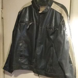 Arizona leather coat